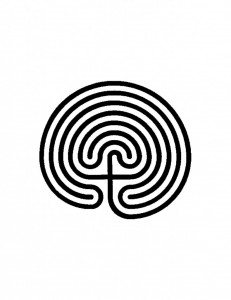 Picture of a labryinth